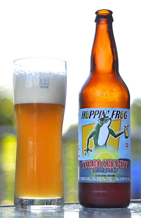 hoppin frog turbo shandy