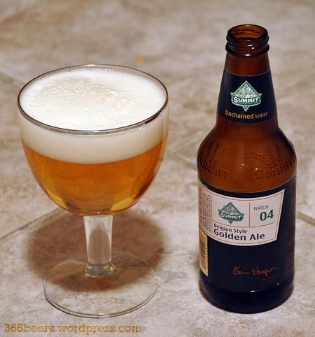 Summit Belgian Style Golden Ale