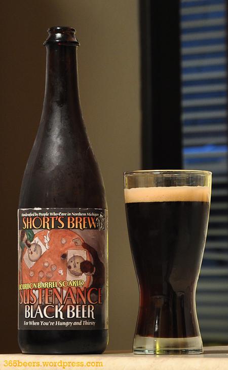Shorts Bourbon Barrel Sustenance Black Beer