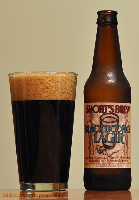 Shorts Black Licorice Lager