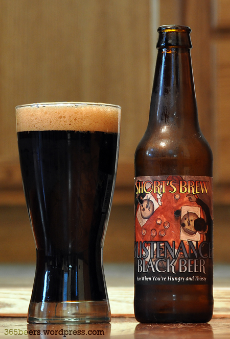 Shorts Sustenance Black Bier