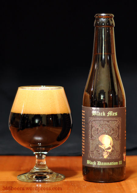 De Struise Black Damnation III Black Mes