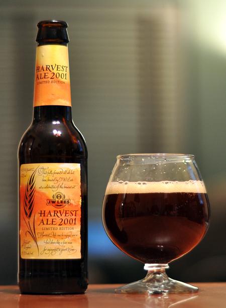 JW Lees Vintage Harvest Ale