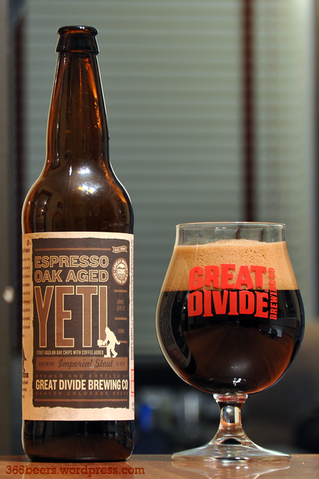 Great Divide Espresso Yeti Stout
