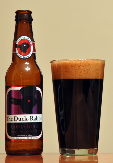 Duck Rabbit Rabid Duck Russian Imperial Stout