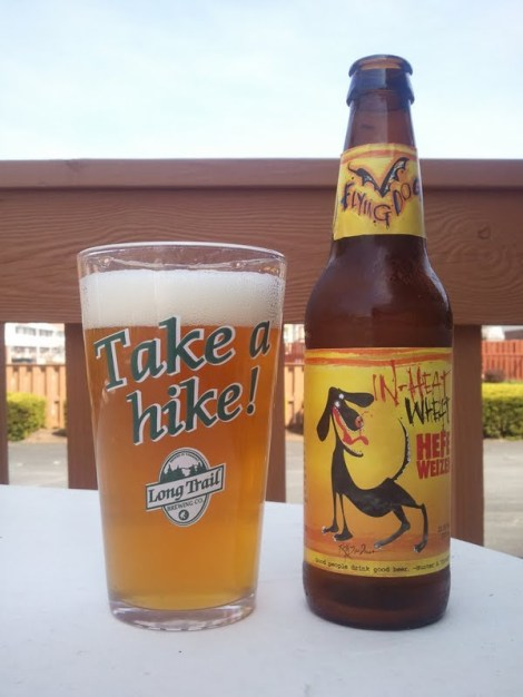 Flying Dog In Heat Wheat