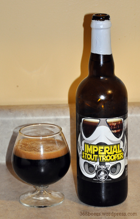 New England Brewing Imperial Stout Trooper